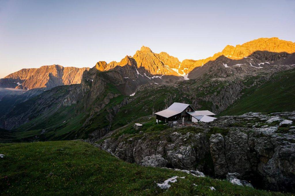 Württemberger Haus, Eagle Walk, Austria Hut to Hut Hiking