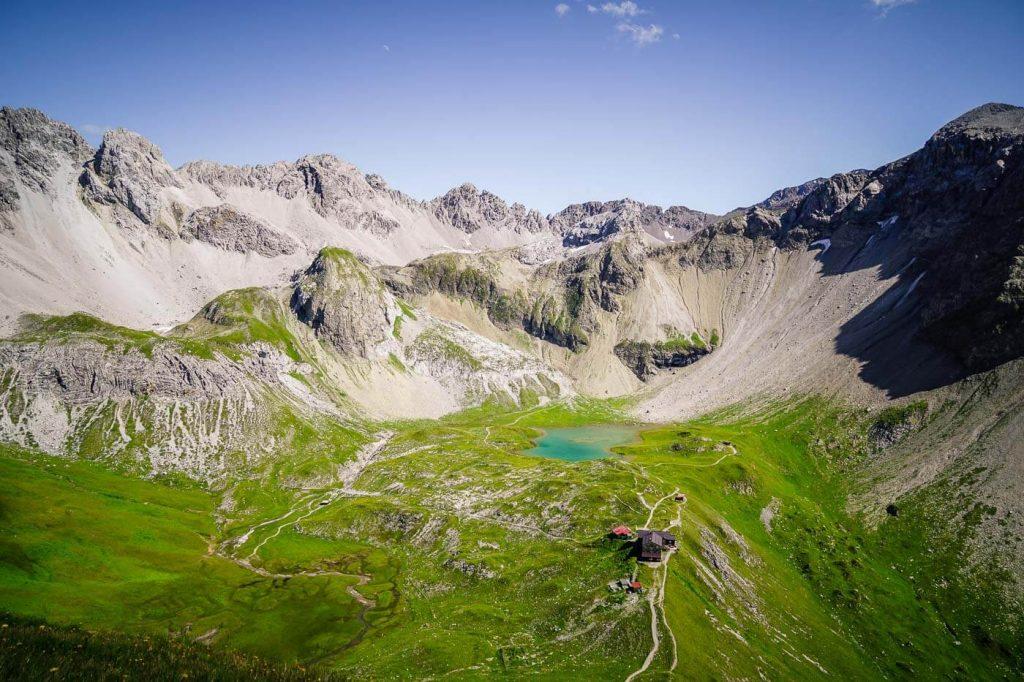 Memminger Hütte, Lechtal Alps, Austria Hut to Hut