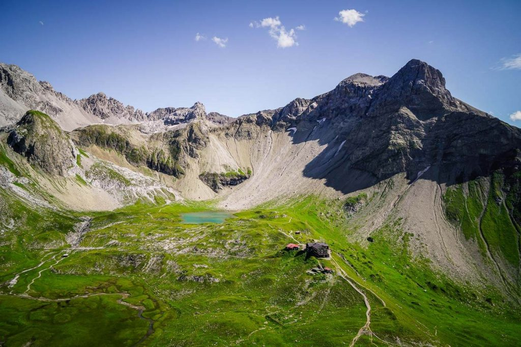 Memminger Hütte, Lechtal Alps - Hiking in the Alps