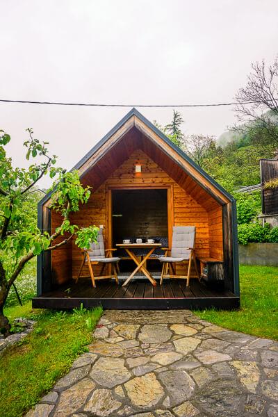 Tourist Farm Kranjc, Slovenia Glamping Cabin