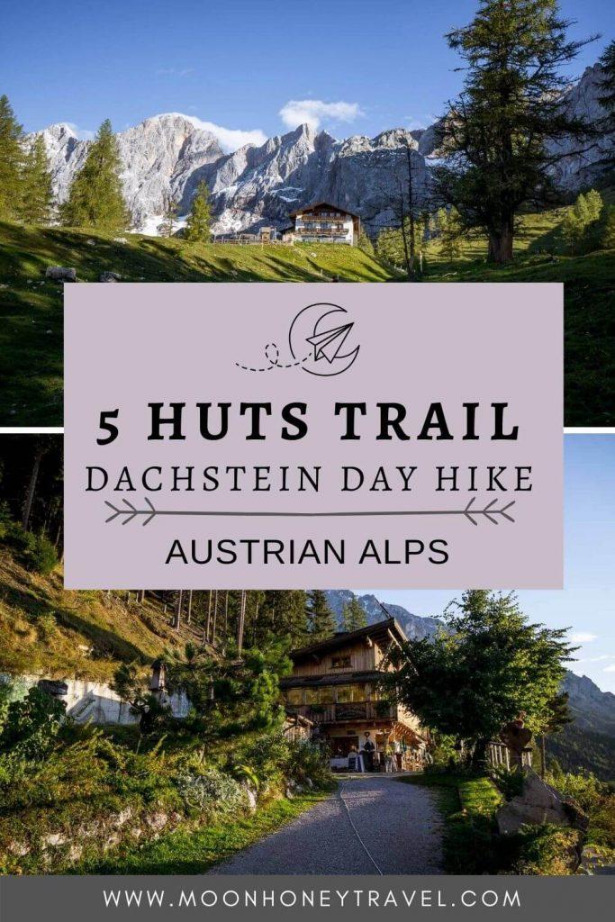 5 Huts Loop Trail, Ramsau am Dachstein, Day Hike, Austria