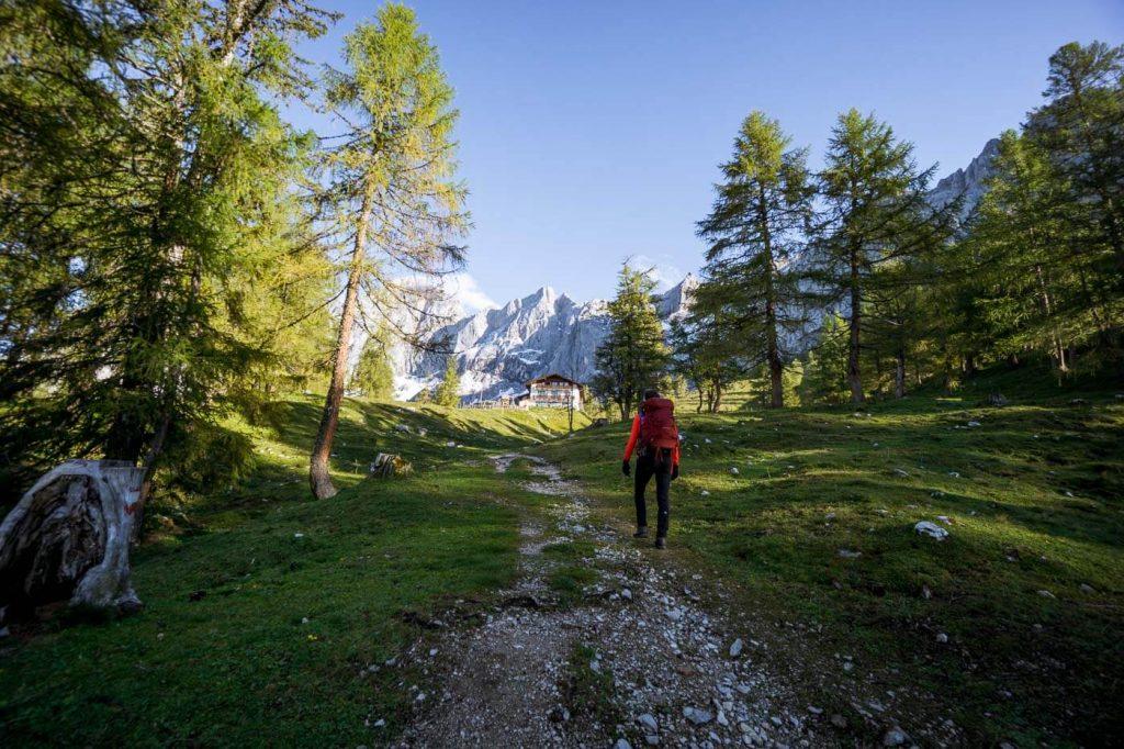 Türlwand, 5 Huts Trail, Dachstein Mountains, Austria