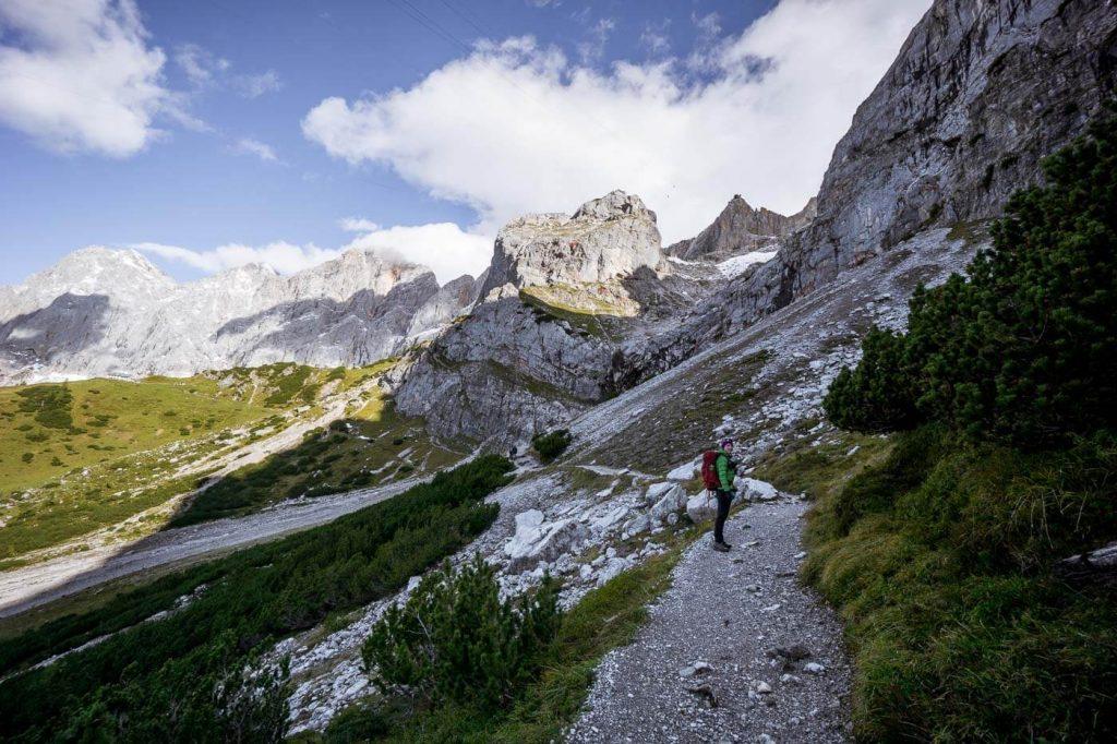 Türlwand to Dachstein Südwandhütte, 5 Huts Trail
