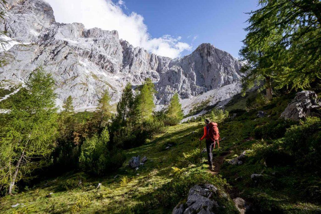 Dachstein Mountains, 5 Huts Trail