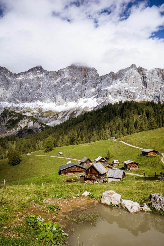 5 Huts Trail, Dachstein Mountains, Austria