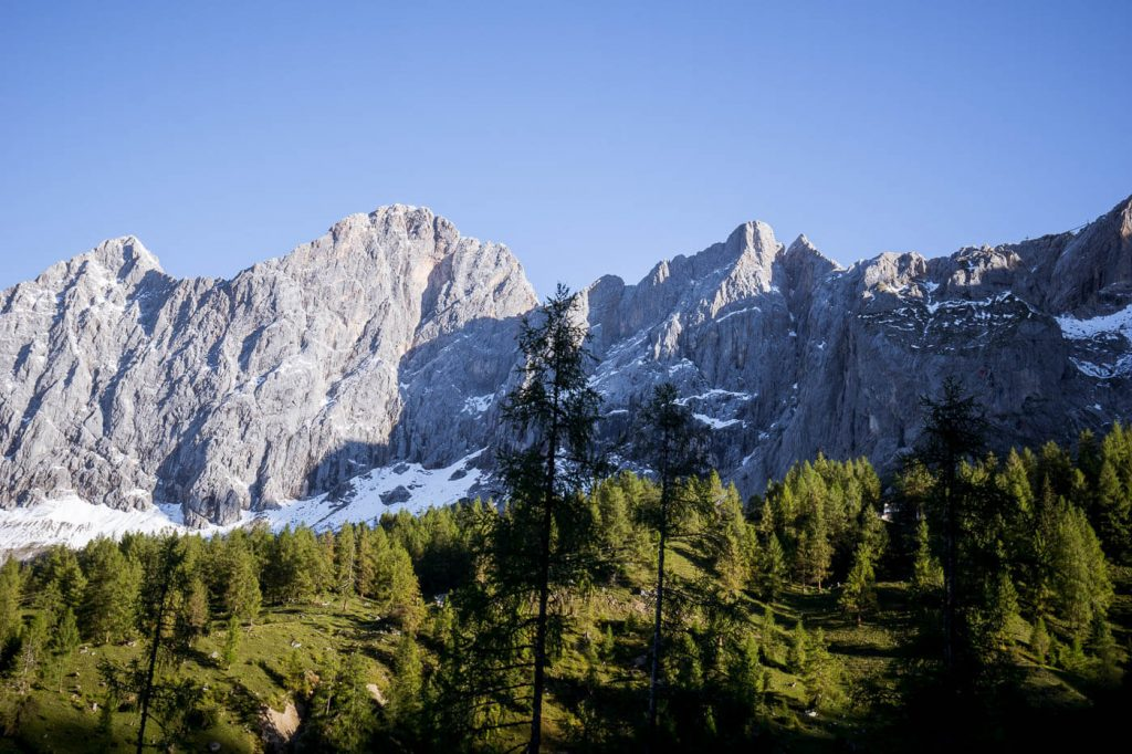 Dachstein Mountains, 5 Huts Trail Day Hike
