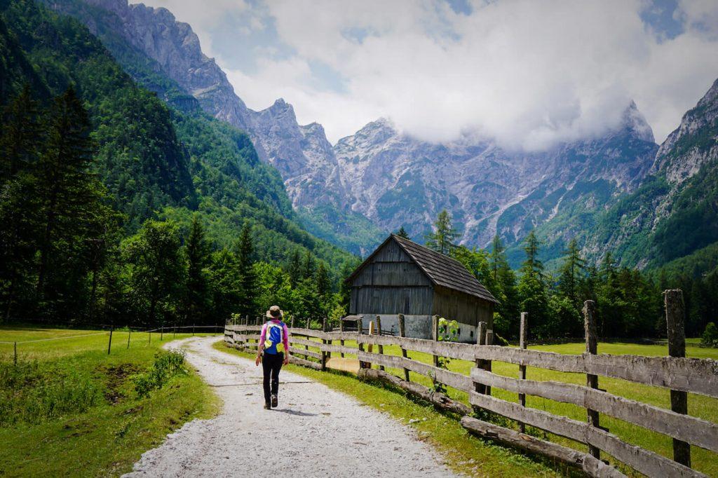 Robanov Kot to Robanov Planina Walk, Easy Slovenia Walks