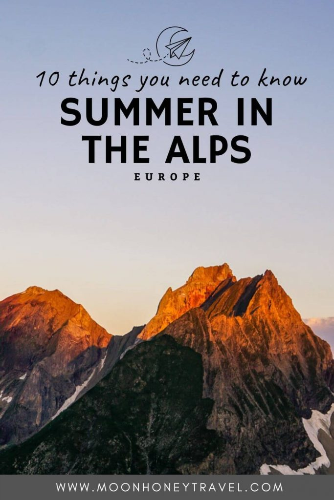 Summer in the Alps: Everything you need to know
