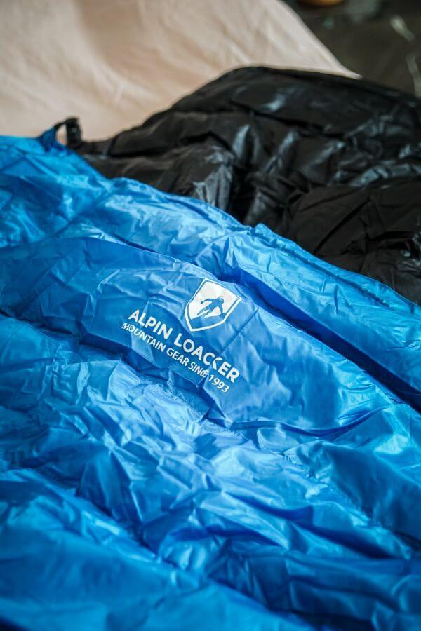 Alpin Loacker Lightweight down Sleeping Bag