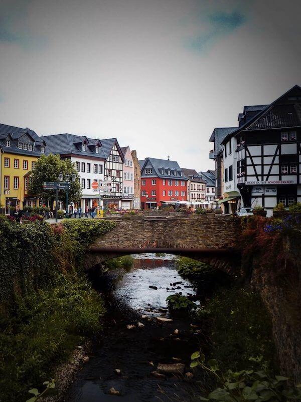 Bad Münstereifel Town in the Eifel, Germany