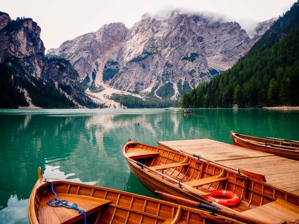 Lago di Braies Boat Rental