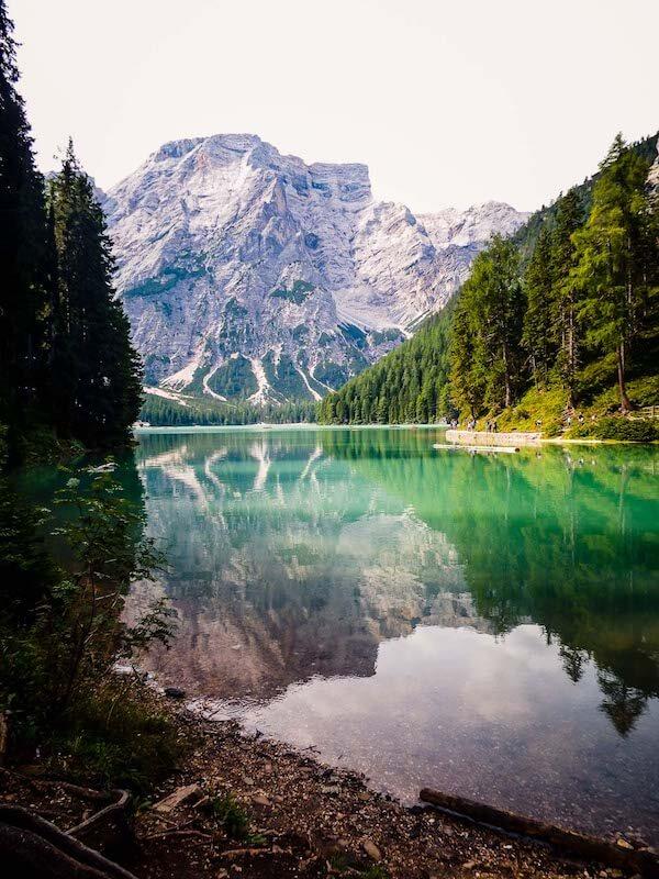 Lake Braies, Prags Dolomites