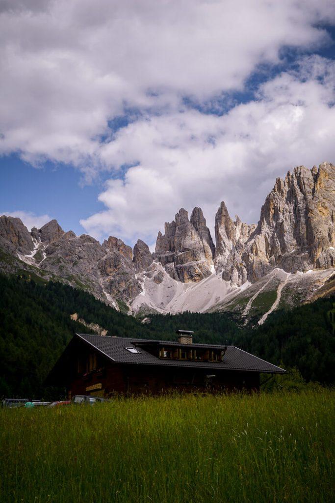 Plafötschalm, Rosengarten Mountains, Dolomites