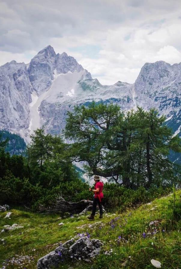 Slemenova Špica hike in the Julian Alps