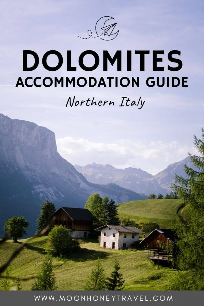 Accommodation in the Dolomites