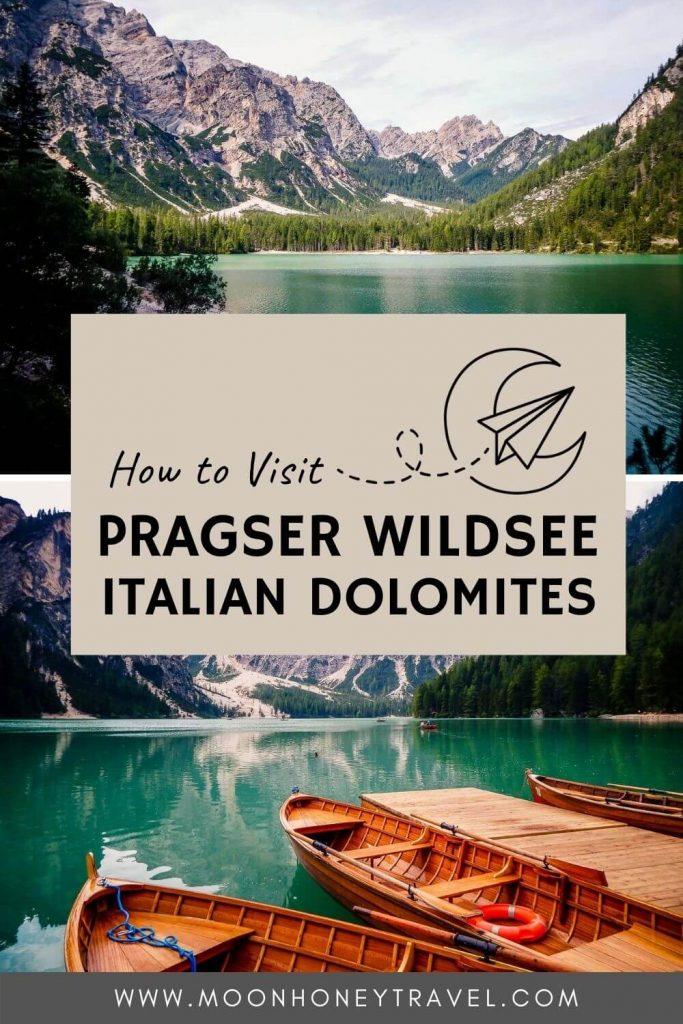 Pragser Wildsee, Dolomites