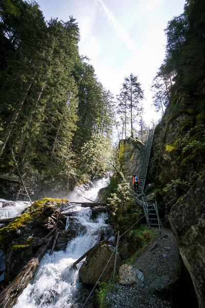 Alpinsteig Höll, Untertal, Schladming, Österreich