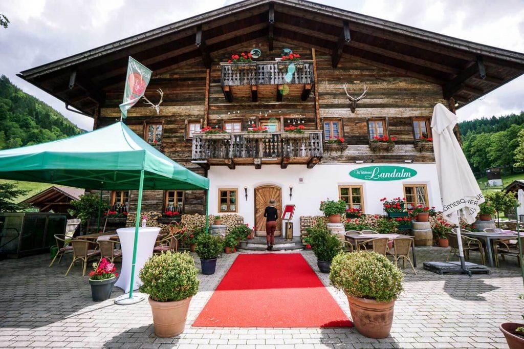 Landalm, Restaurant im Untertal Dorf, Rohrmoos, Schladming, Österreich