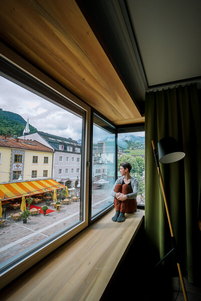Stadthotel Brunner Zimmeraussicht, Schladming, Österreich