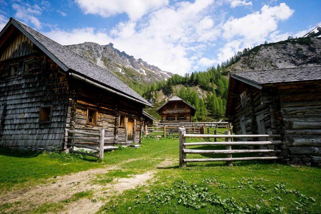 Ursprungalm Wooden Cottages, Schladming, Austria