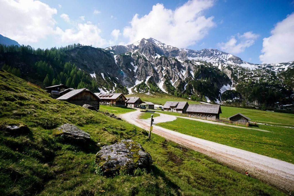 Ursprungalm im Preuneggtal, Schladming, Österreich