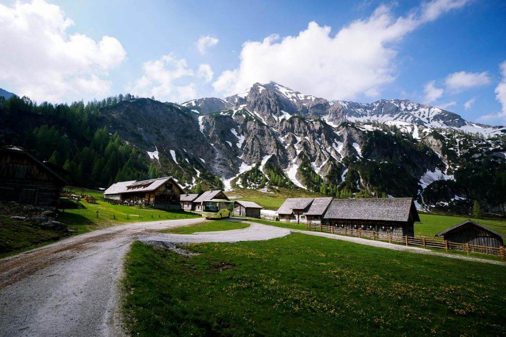 Ursprungalm in Preuneggtal, Schladming, Austria