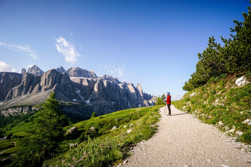 Trail 12A, Gran Cir Hike, Dolomites