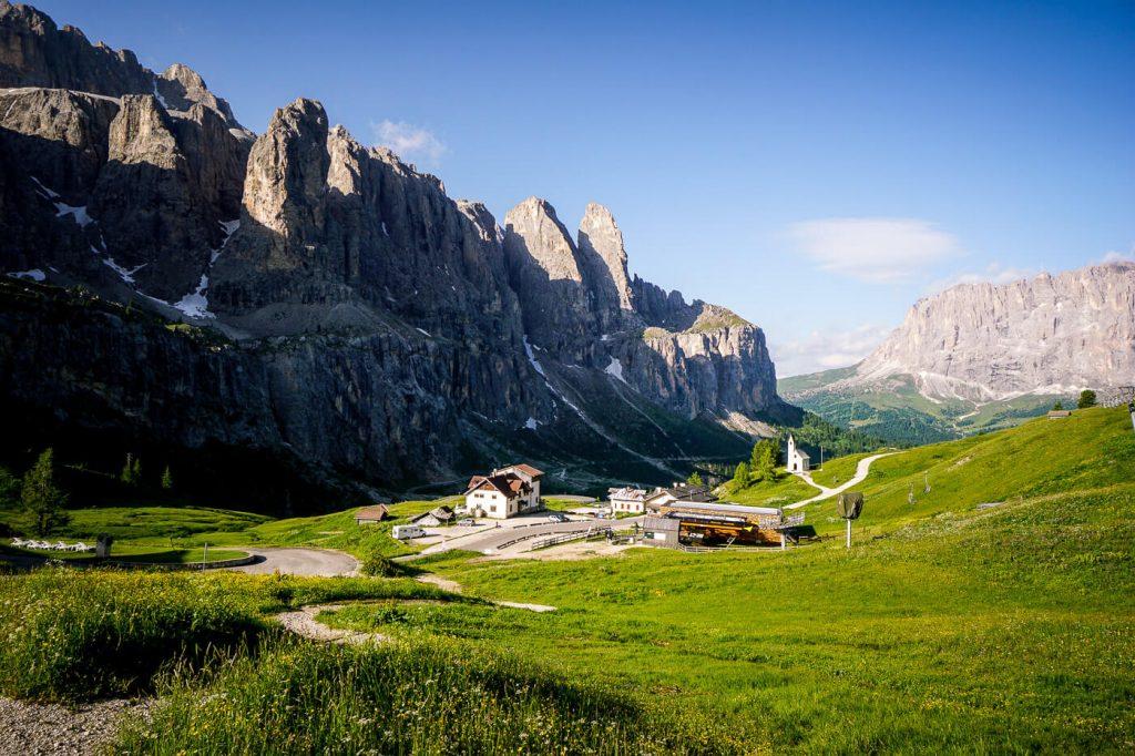 Passo Gardena, Italian Dolomites