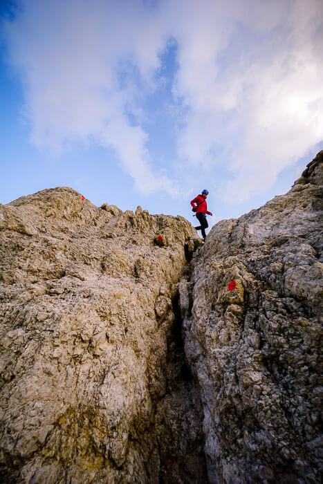 Gran Cir Descent, Dolomites