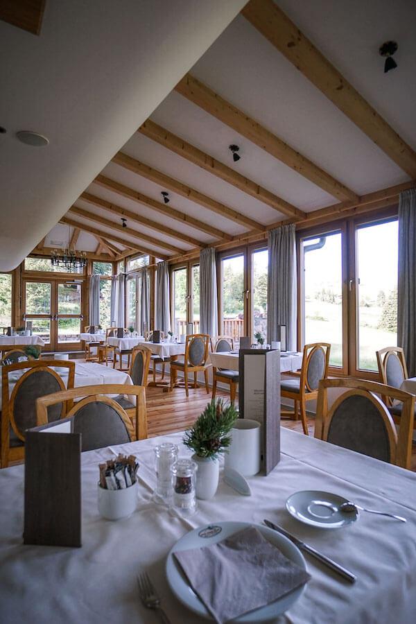 Hotel Steger-Dellai Dining Room, Alpe di Siusi
