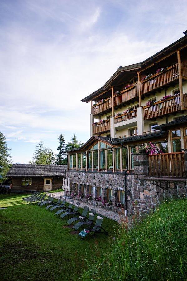 Hotel Steger-Dellai, Alpe di Siusi, Dolomites