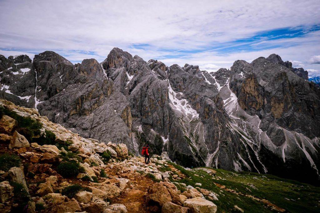 Catinaccio/Rosengarten Trail 4, Dolomites