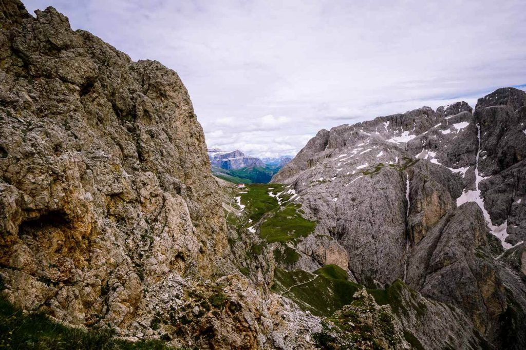 Trail 4 to Rifugio Alpe di Tires, Dolomites