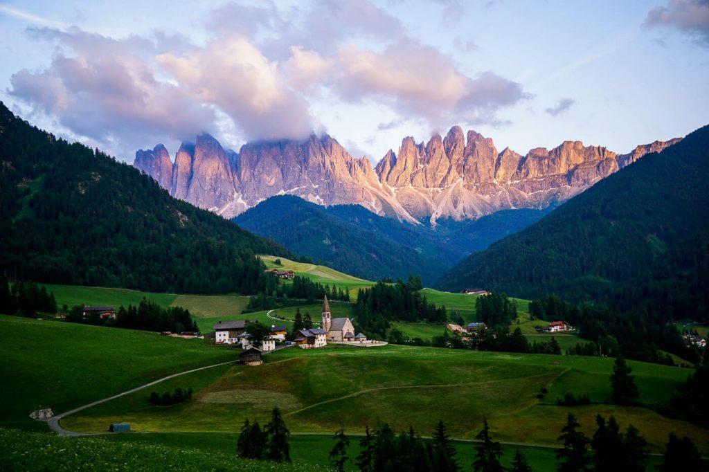 Santa Maddalena Val di Funes Panorama Trail, Dolomites