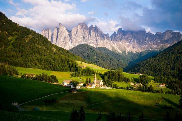 Santa Maddalena, Val di Funes, Panorama Trail, Dolomites
