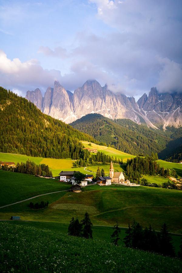 Golden Hour, Santa Maddalena Church, Val di Funes, Dolomites