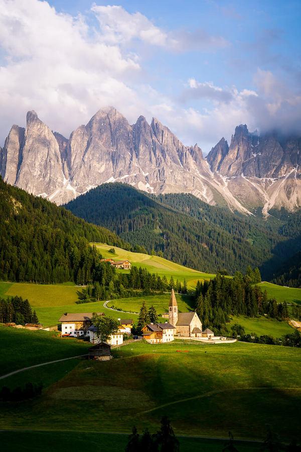 Santa Maddalena Church, Val di Funes, Dolomites