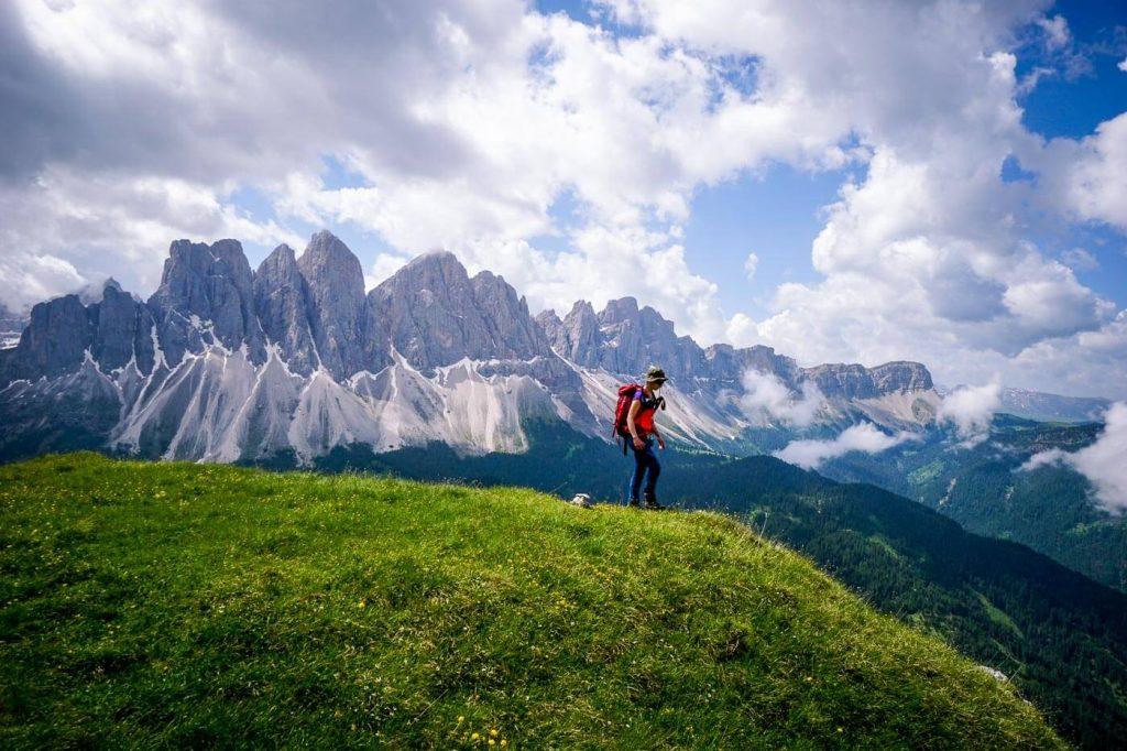 Oberer Herrensteig, Odle/Geisler Peaks, Dolomites