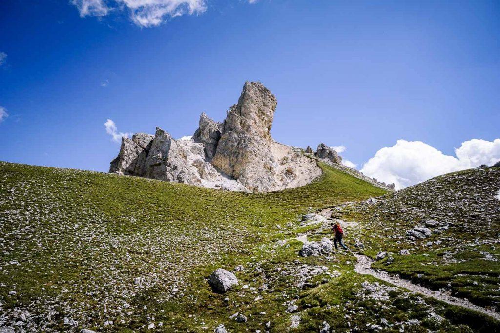 Günther Messner Steig, Dolomites