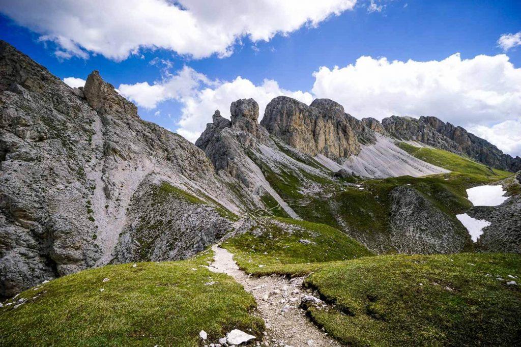 Günther Messner Steig, Odles d'Eores/Aferer Geisler Group, Dolomites