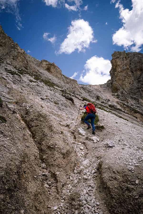Tullen Summit Hike, Dolomites