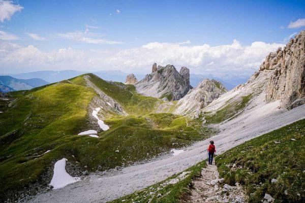 Tullen Summit Hike, Odles d'Eores, Italian Dolomites