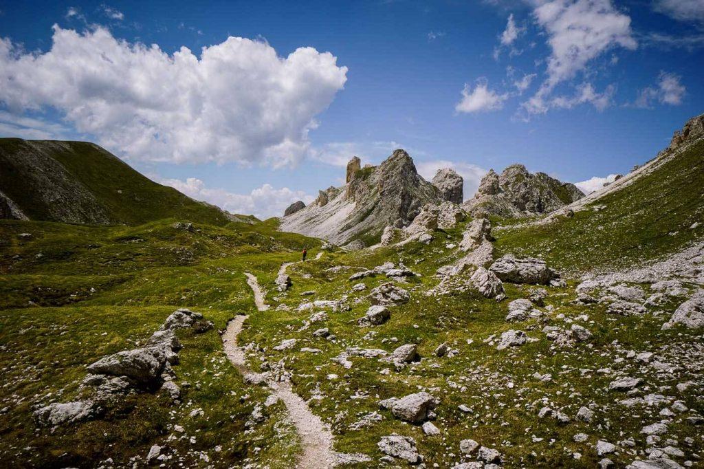 Günther Messner Steig, Puez-Odle, Dolomites