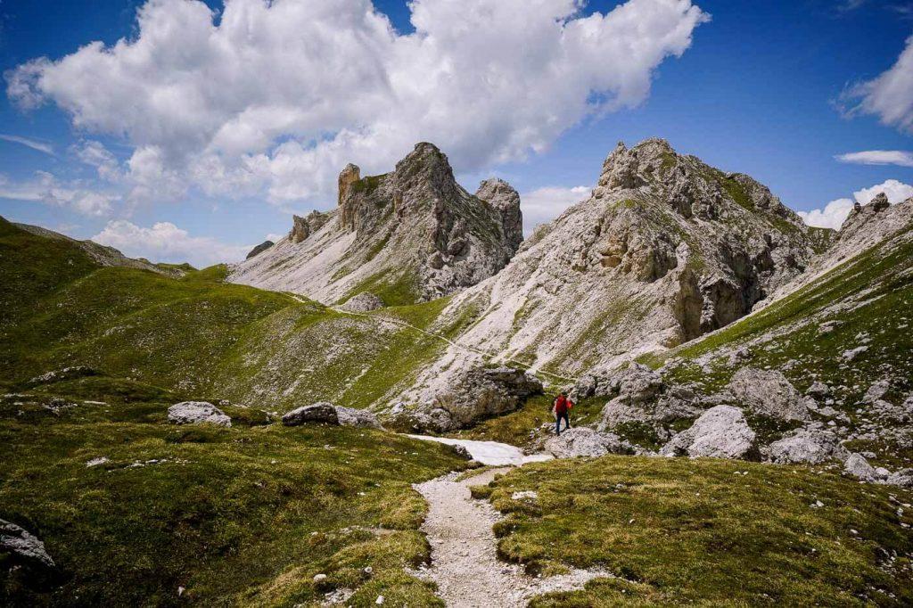 Günther Messner Steig Trail, Puez-Odle, Dolomites