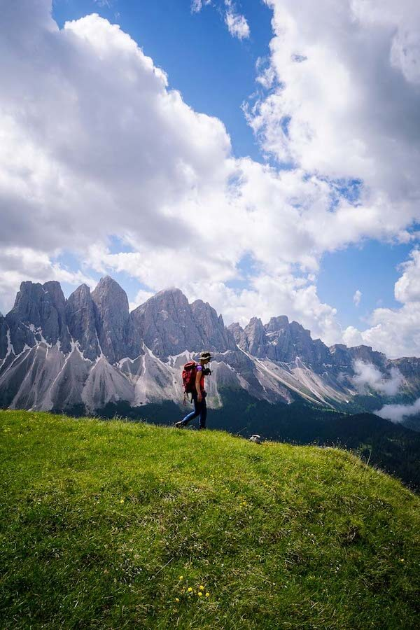 Tullen Summit Hike, Puez-Odle Nature Park, Dolomites