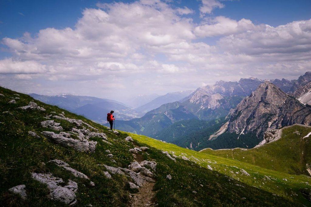 Trail 61 to Hochalpenkopf, Prags Dolomites