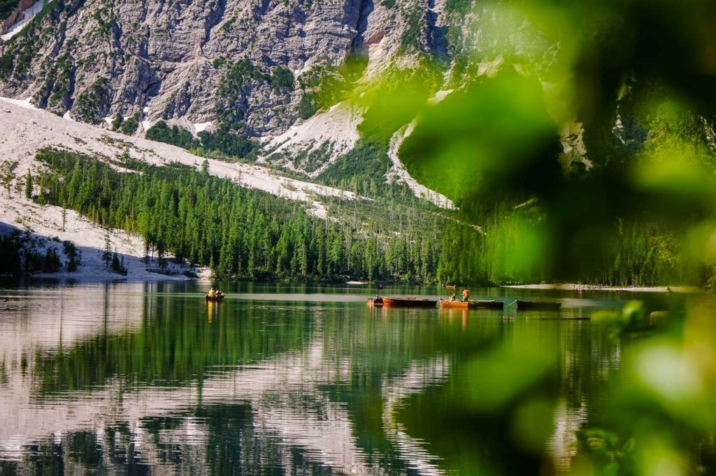 Lago di Braies / Pragser Wildsee, South Tyrol, Dolomites, Italy