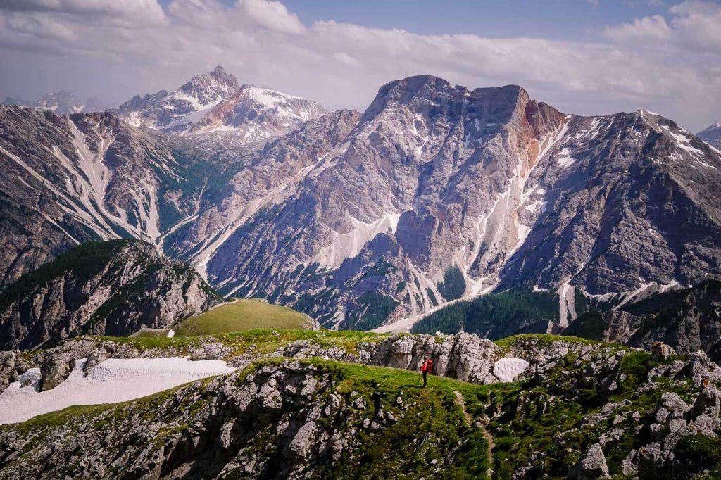 Hochalpenkopf / Cima dei Colli Alti Summit, Prags Dolomites