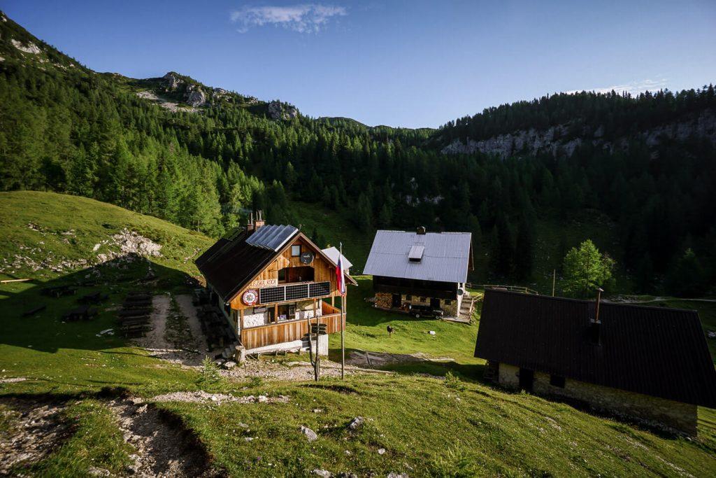 Blejska koča na Lipanci, Julian Alps, Slovenia