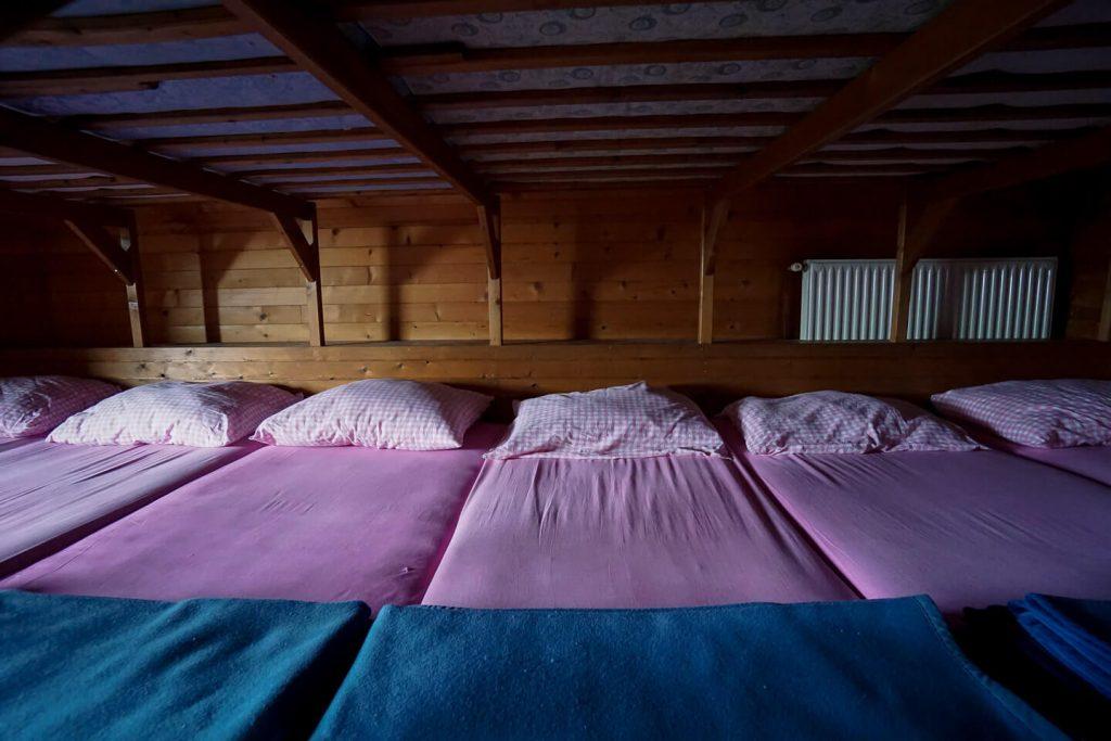 Blejska koča na Lipanci dormitory